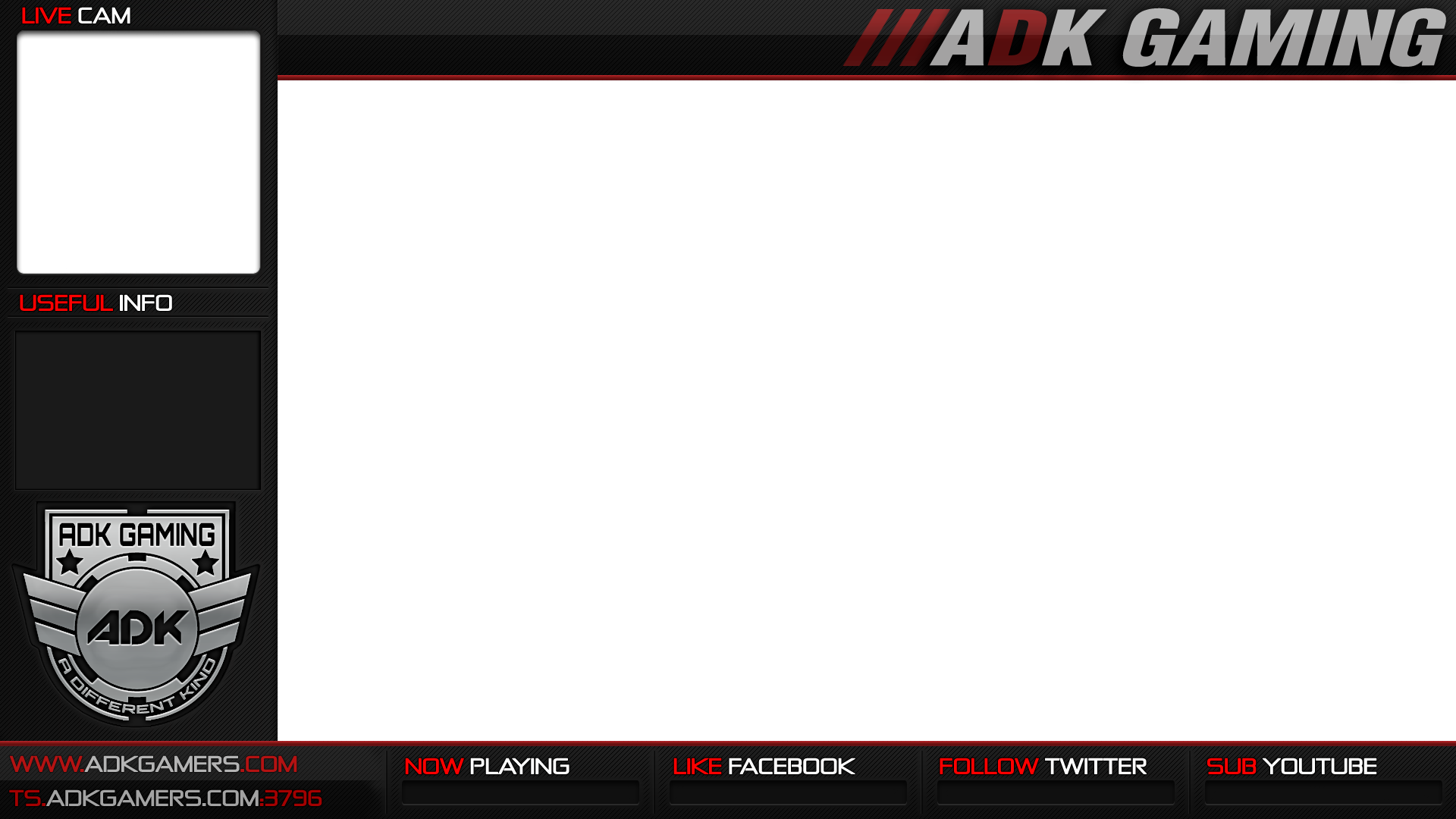 Pin custom twitch overlay template on pinterest for Twitch overlay ideas